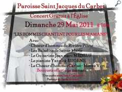 photo de Concert gratuit à la paroisse saint jacques du Carbet