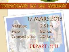 photo de TRIATHLON LD DU CARBET