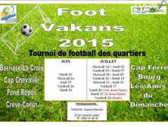 "photo de ""FOOT VAKANS"" 2015"
