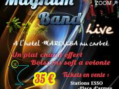 "photo de Garden ""MAGNUM BAND EN LIVE"""