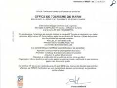 photo de CERTIFICAT AFNOR