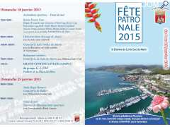 photo de Fête patronale du Marin Edition 2015