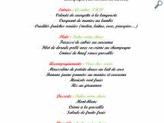 picture of MENU SPECIAL FETE DES MERES